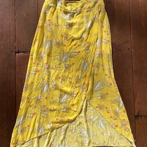 Express Side Slit Midi Skirt